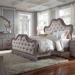 simply charming upholstered bedroom set pulaski furniture