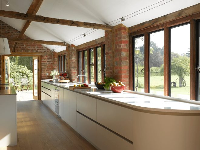 simpson a modern barn kitchen from roundhouse design