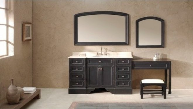 single sink vanity with makeup area 28 images single navy blue
