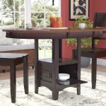 sinkler counter height drop leaf dining table