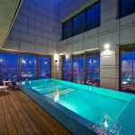 sky penthouse views indoor swimming pools rooftop pool