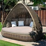 skyline design shade daybed luxury garden daybed posh garden