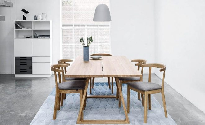 sm105 extendable dining table