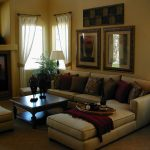 small basement decorating ideas with pretty living room colors plus