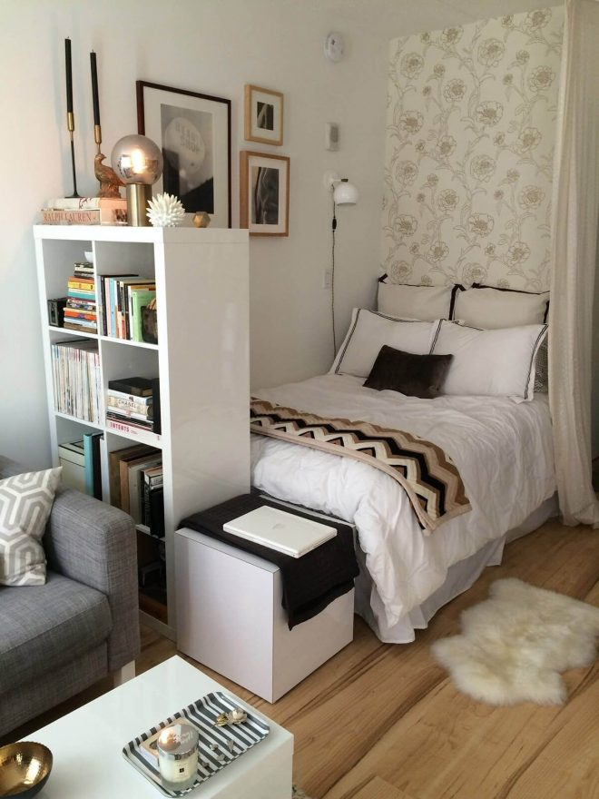 small bedroom ideas with a tall bookshelf my room in 2019