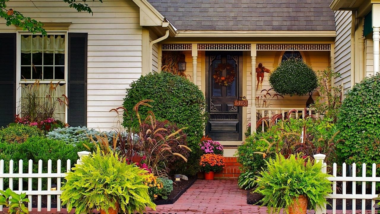 small front yard landscaping ideas youtube