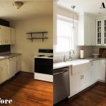 small kitchen ideas before after remodel pictures of tiny
