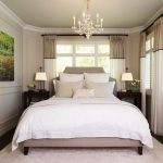 small master bedroom ideas with king size bed with romantic