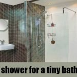 small open shower bathroom design youtube