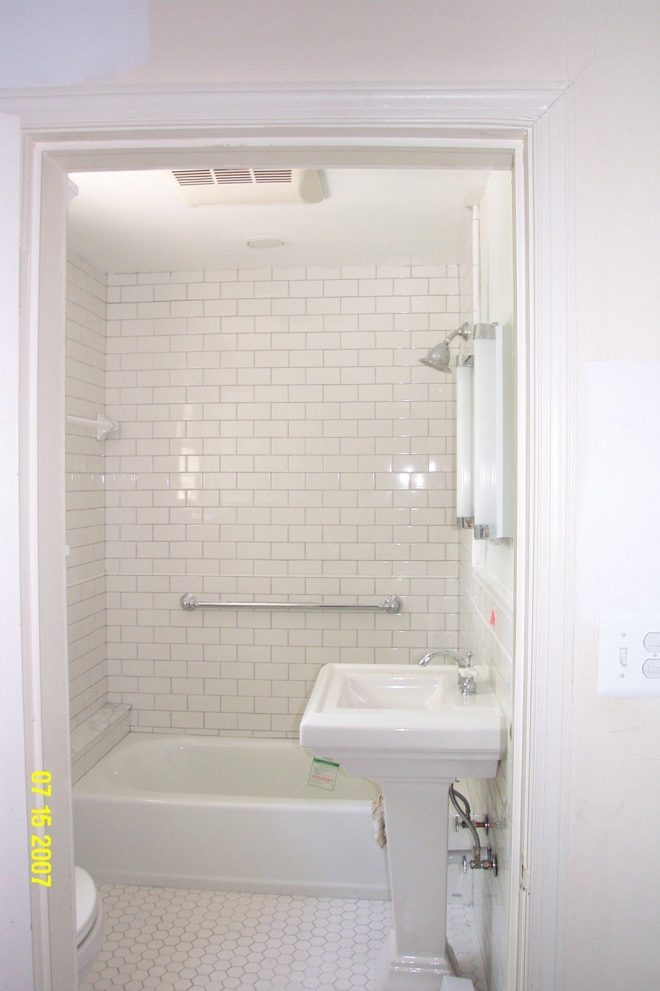small white subway tile bathroom home design ideas piano