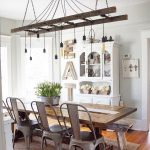 smitten with this dining room at b vintage lighting