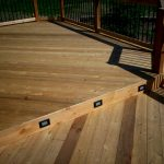 solar powered deck lights add versatility to your outdoor