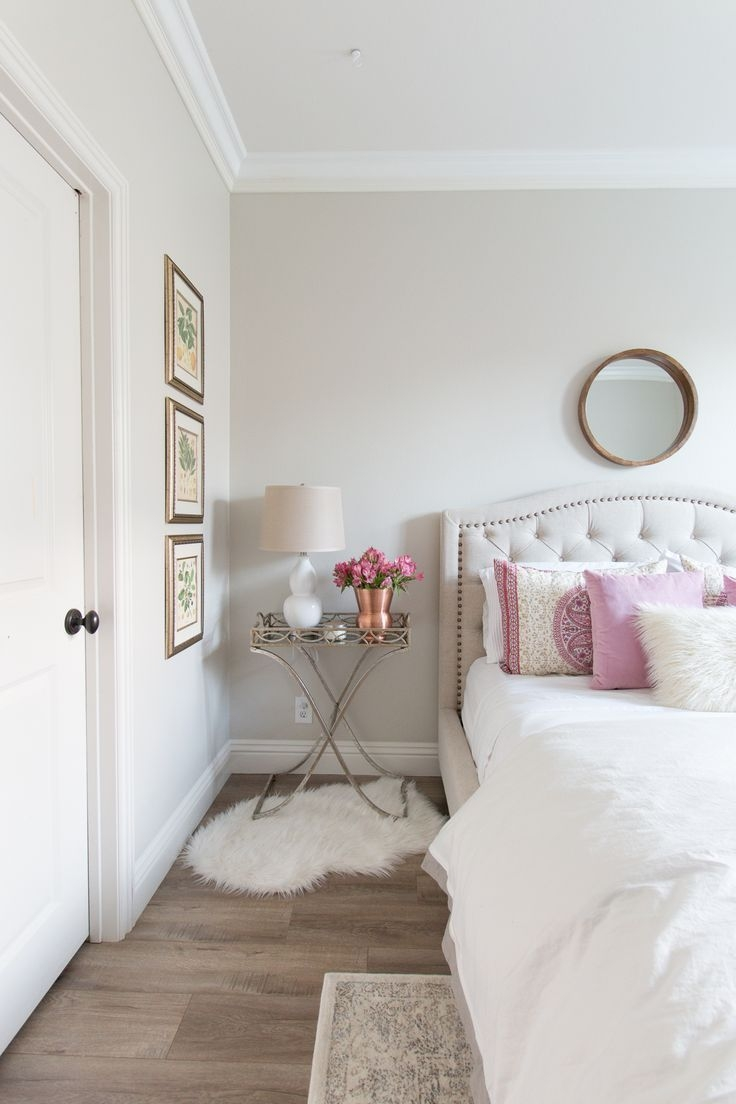 White Wall Bedroom Decorating Ideas from opnodes.net