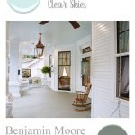 southern home paint color palette swimming pool porch