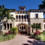 spanish style mansion is located in naples fl in 2019