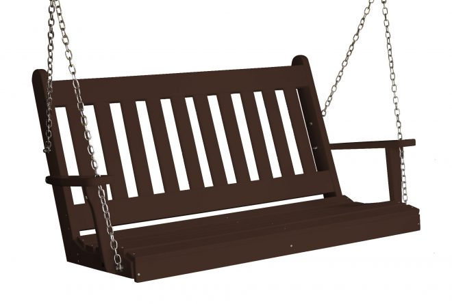 spengler traditional english porch swing