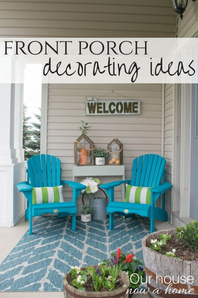 spring front porch decorating ideas these diy wood adirondack