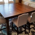 square farmhouse dining table craftsman style square dining room