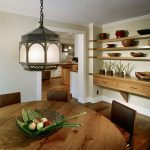 staggering floating shelves decorating ideas for dining room