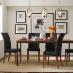 standard height for dining room light fixture best dining room