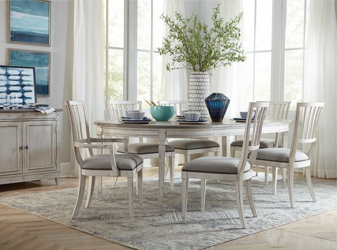 standard size of a dining table bassett furniture