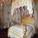 state bedroom designed in the 18th century the french artist