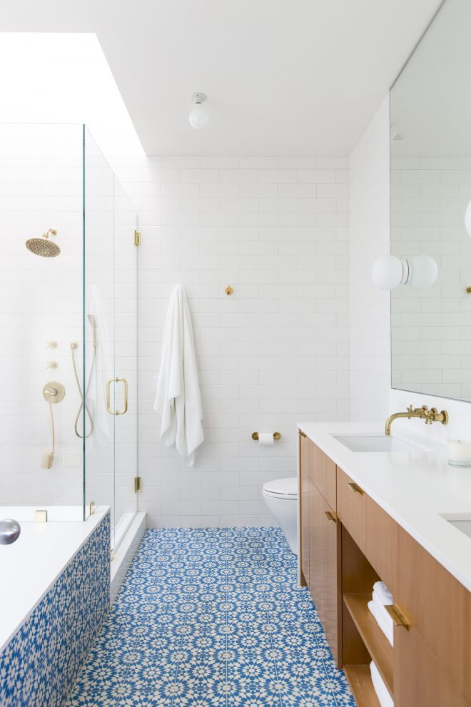 steal this look a modern moroccan style bath in los angeles