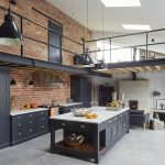 step inside this modern industrial style barn conversion