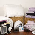 student linen home comfort plus pack reversible lilac and purple