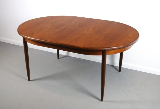 stunning g plan expandable dining table in teak united kingdom