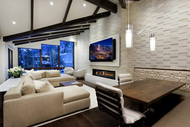 stunning new downtown home in aspen colorado