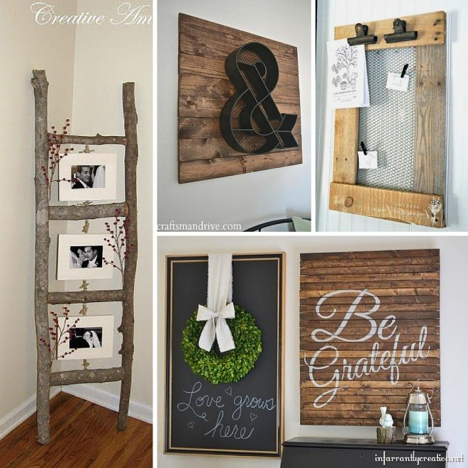 stunning rustic diy home decor projects refresh restyle image for