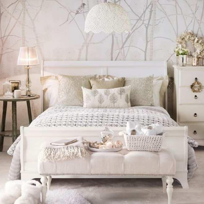 stylish neutral bedroom idea gray and photo tip a an accent for