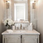 such an elegant powder room castlwood custom builders