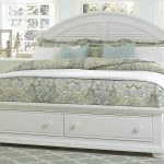 summer house cottage queen bed with storage footboard liberty furniture at royal furniture