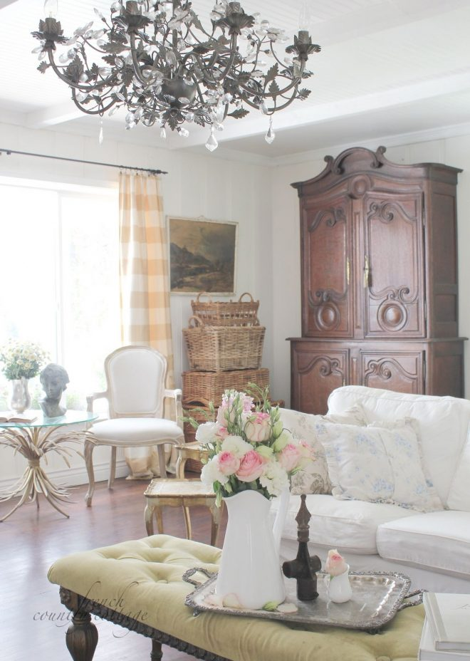 summer living room living room decor country french