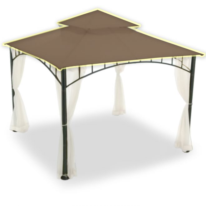 sunbrella replacement gazebo canopy top cover garden winds