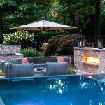 swimming pool landscaping ideas home planning ideas 2018