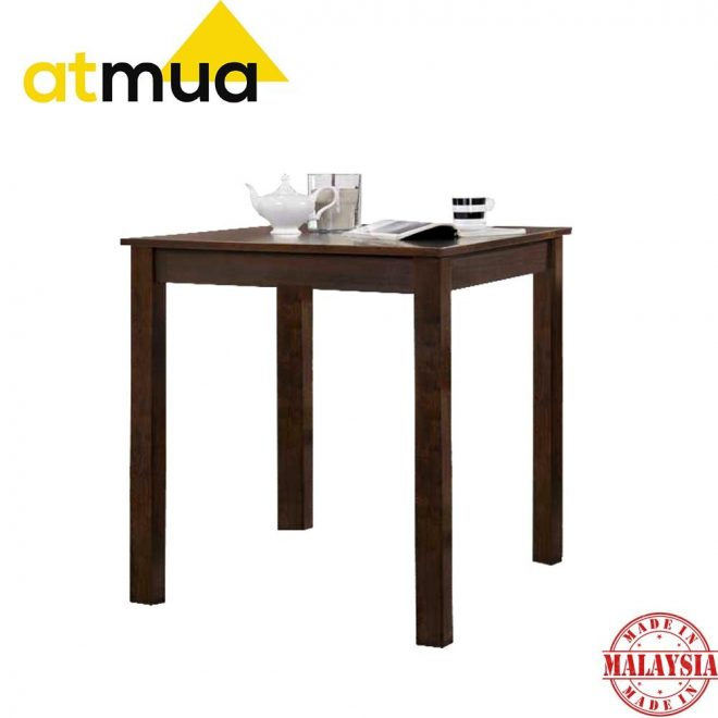 table only atmua spearo counter table dining table bar table high table solid wood meja tinggi 36 inch meja solid kayu getah