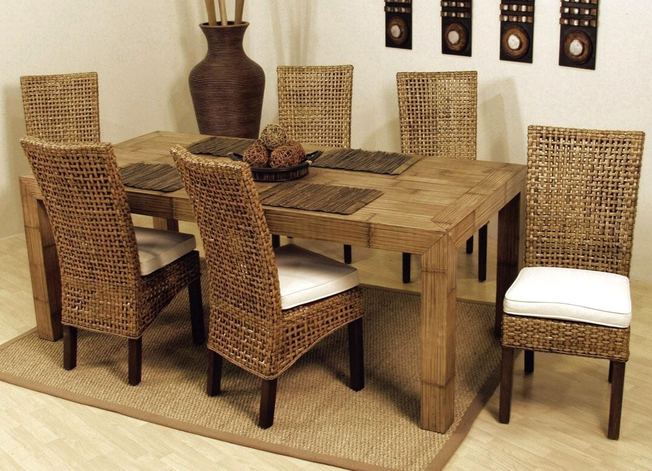 table rattan table sets dining room cheap and low price hospitality