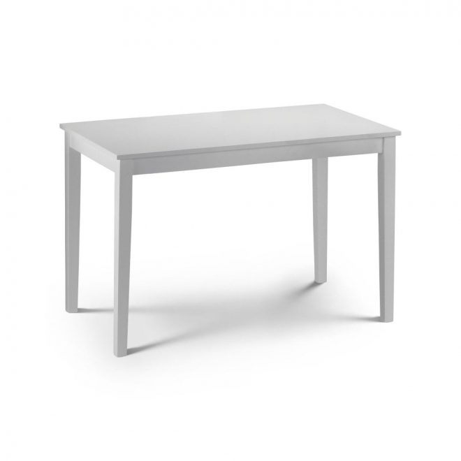 taku white lacquered dining table julian bowen leader stores