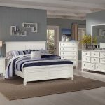 tamarack timber bedroom suite in white