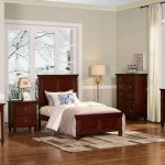 tamarack youth panel bedroom set brown cherry
