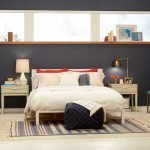 target chapter 7 navy blue accent wall bedroom makeover