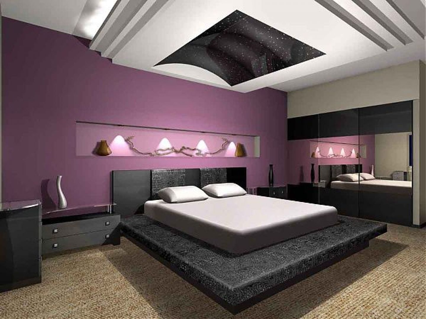 Teal And Purple Bedroom Ideas Bedrooms Opnodes