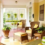 terrace and garden pink and yellow porch ideas cozy front porch