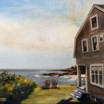 the art of jeffrey dale starr oil painting of driftwood