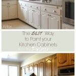 the best way to paint kitchen cabinets no sanding
