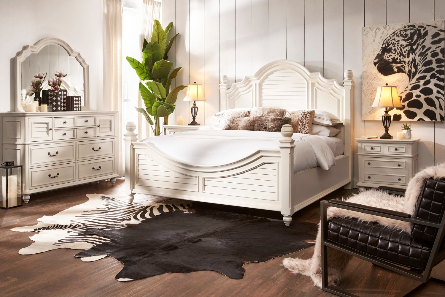 the charleston bedroom collection value city furniture and