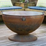 the dos and donts of using a fire pit on a wooden deck
